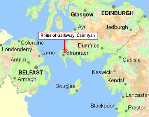 Belfast To Cairnryan Ferry >> Cairnryan, Stranraer - Hotel style Guest House offering B&B accommodation - Rhins of Galloway